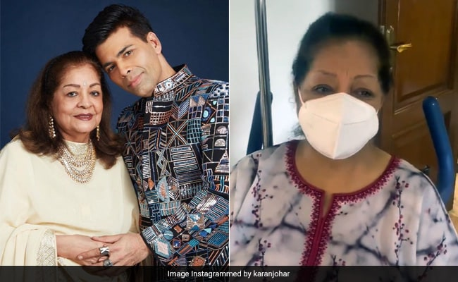 Karan Johar's Mother Hiroo, 79, Had 'Two Massive Surgeries' In The Last 8 Months. Read His Post