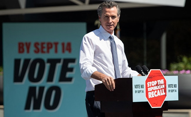 Californians Vote To Keep Democratic Governor: US Media Projections