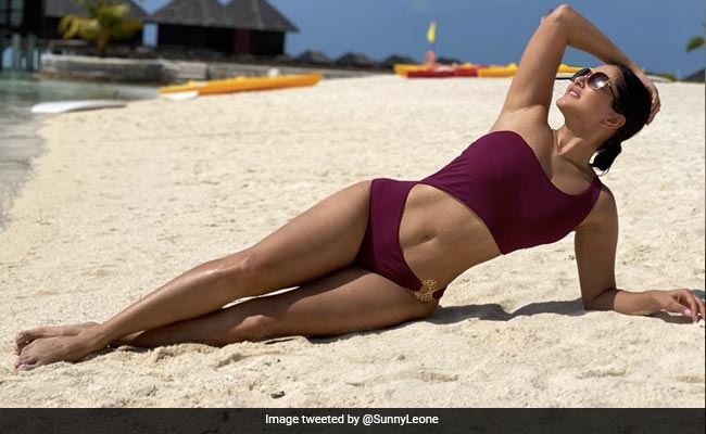 No Need For Filters If You Are As Stunning As Sunny Leone. See Pic From Her Maldives Vacation