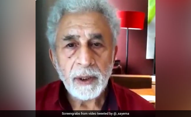 Naseeruddin Shah's Message For 'Those Celebrating Taliban' In India