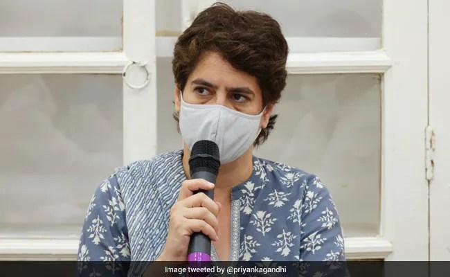 'Champion Of Anti-Women Mindset': Priyanka Gandhi Slams UP Chief Minister