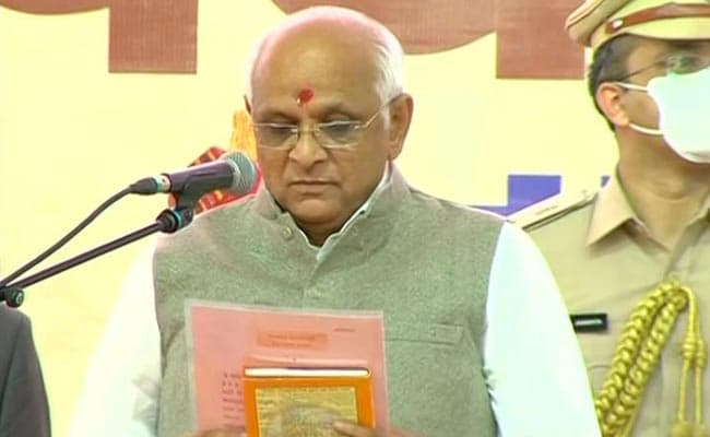 Bhupendra Patel Takes Oath As Gujarat Chief Minister, Amit Shah Present