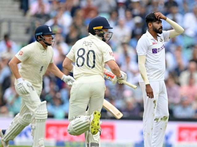 India vs England 4th Test, Live Cricket Updates: Ollie Pope, Jonny Bairstow Lead Recovery, England Trail By 52 At Lunch