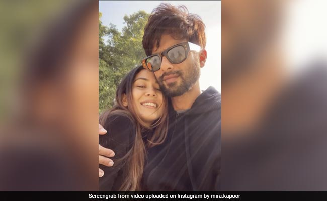 Shahid Kapoor Is Just 'Glad' To Feature In Mira Rajput's Post