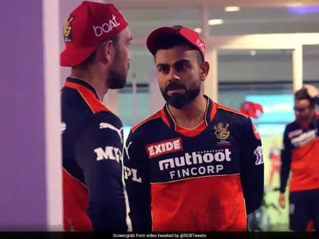 देखें: रॉयल चैलेंजर्स बैंगलोर आईपीएल 2021 से बाहर निकलने के बाद विराट कोहली का भावनात्मक भाषण