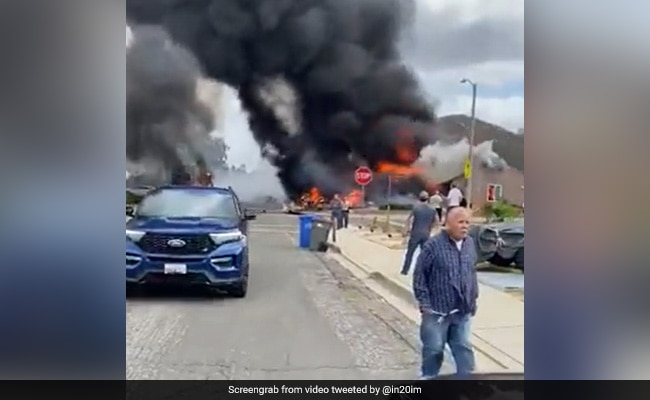 'Pretty Brutal Scene For Our Guys': 2 Die As Plane Hits Houses In US