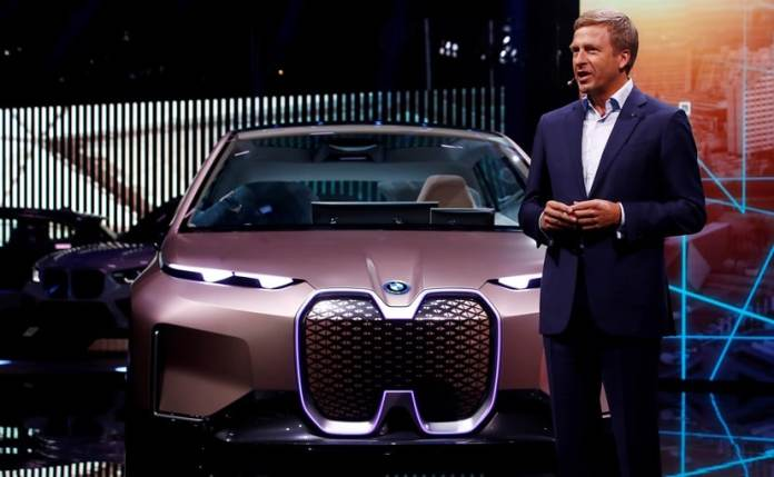BMW said it expects 50% of global car sales to be electric vehicles by 2030