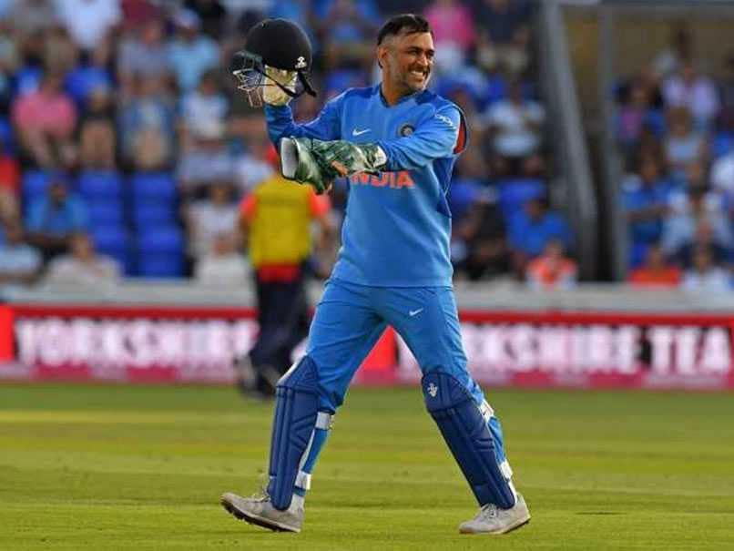 MS Dhoni Reveals Why He Took The Ball From Umpire After 3rd ODI vs England