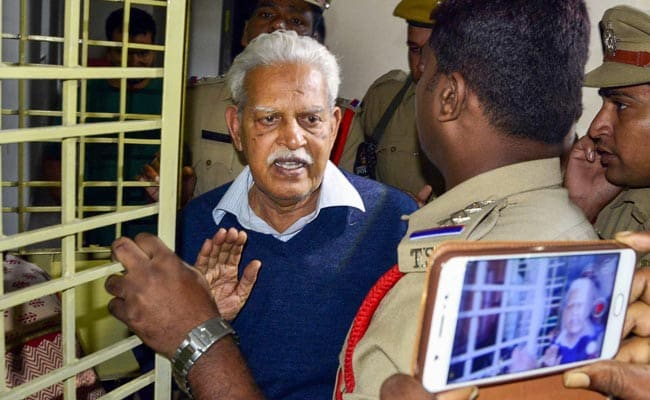 Poet-Activist Varavara Rao's Bail Conditions Difficult To Be Met: Family