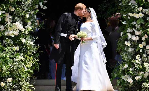 prince harry meghan markle royal wedding afp