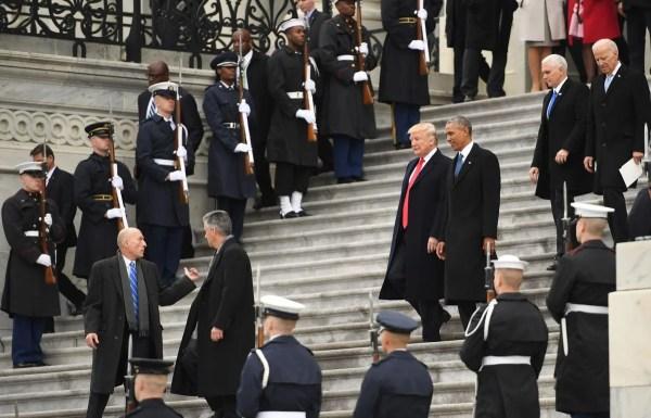 The Inauguration of President Donald Trump - The Boston Globe