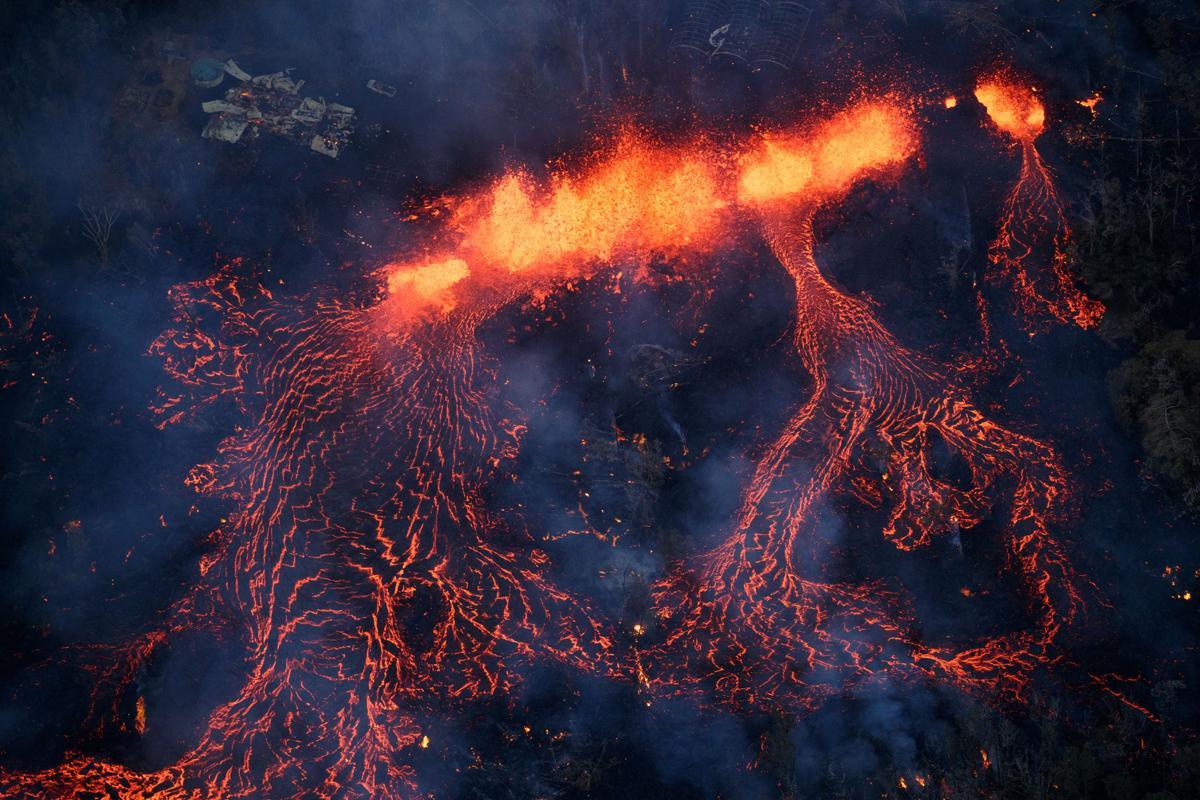 Eruption Of Hawaii S Kilauea Volcano