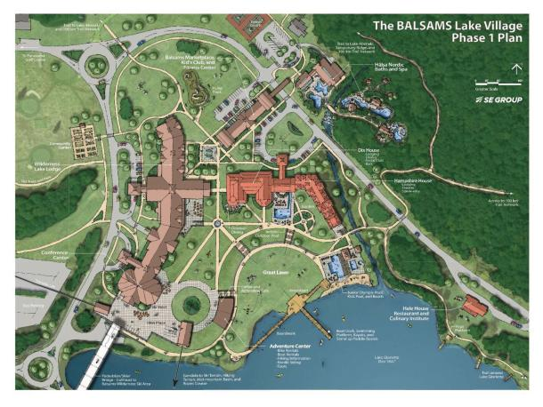 Phase I Plan of The Balsams Lake Village