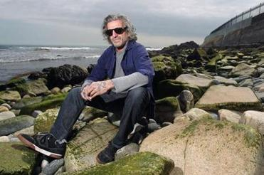 """""""The cliff is not coming down,"""" said Sid Abruzzi, owner of the Water Brothers surf shop in Newport, R.I."""
