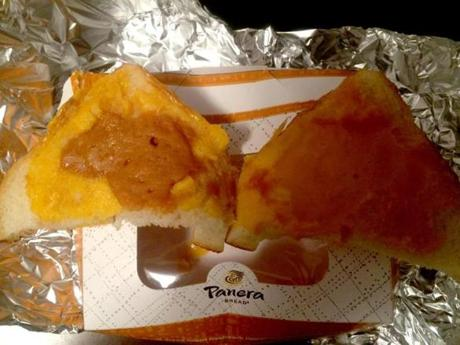 The sandwich from Panera that the family said included peanut butter.
