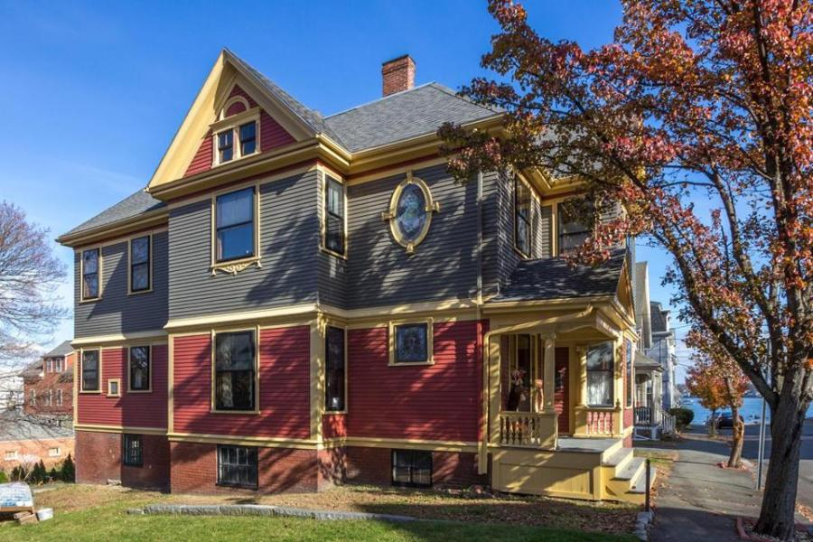 For sale  Queen Anne style homes   The Boston Globe 16 Ocean Avenue  Salem