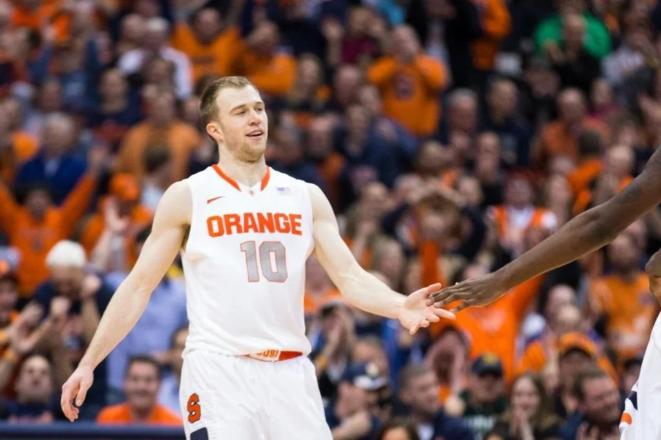 Syracuse shooting guard Trevor Cooney