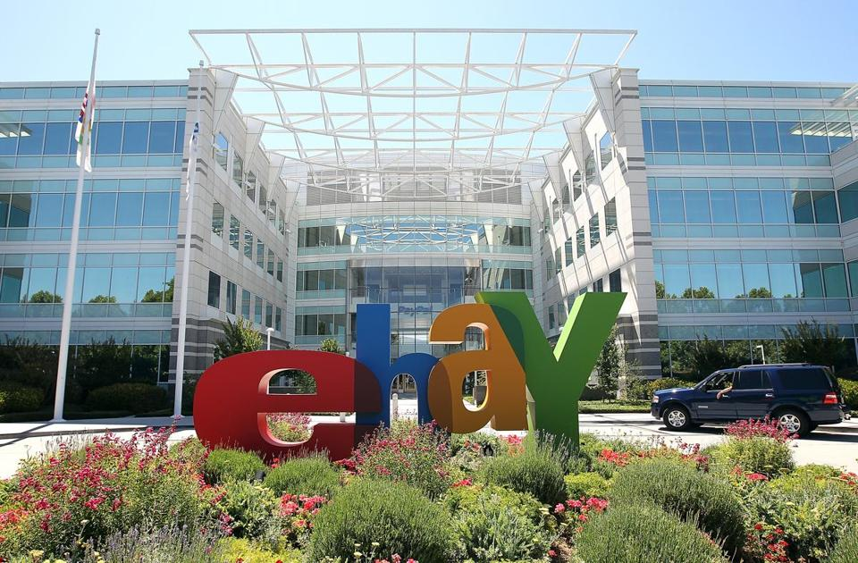 Officials at eBay said hackers gained access to customer data, including names, birth dates, and passwords. It does not appear that credit card numbers were taken, they said.