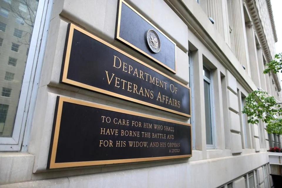 The Department of Veteran Affairs building in Washington. JOHN TLUMACKI PHOTO/GLOBE STAFF