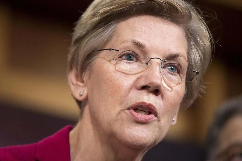 Senator Elizabeth Warren.