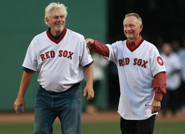Red Sox salute their 1975 AL champions - The Boston Globe