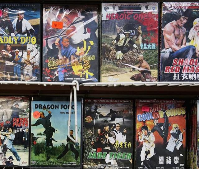 Patrons Will Find A Wide Variety Of Martial Arts Videos Along With Smoking Supplies