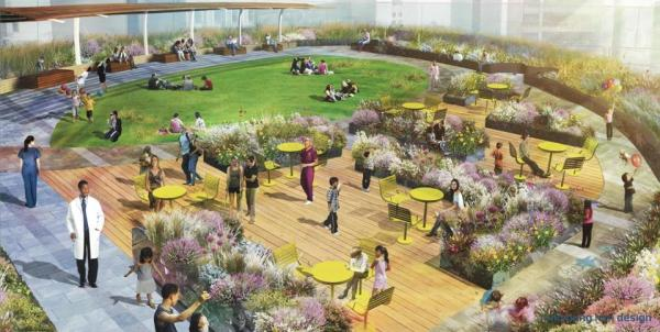 hospital rooftop gardens A new vision for Boston Children's Hospital - The Boston Globe