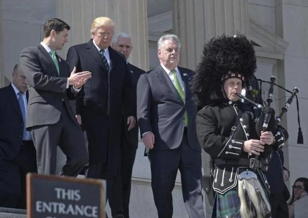 Trump's questionable Irish proverb, Paul Ryan's ...