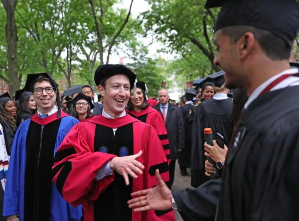 Mark Zuckerberg chokes up while speaking about an ...