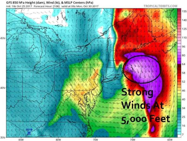 Sunday could see heavy rain and strong winds - The Boston ...