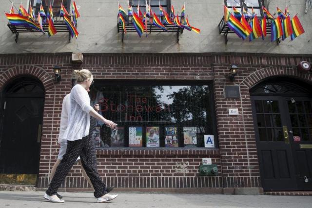 The Stonewall Inn in Manhattan's Greenwich Village in 2015.
