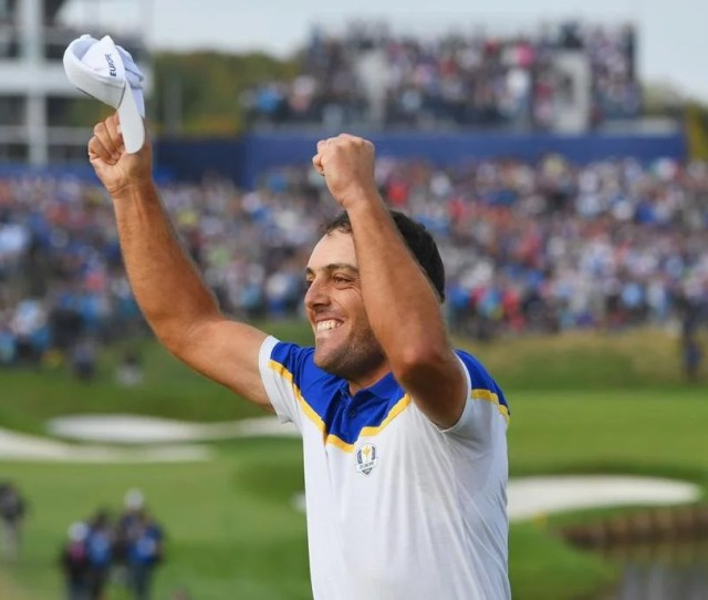 Francesco Molinari Led Europe To Victory Becoming The Fourth Golfer In Ryder Cup History To