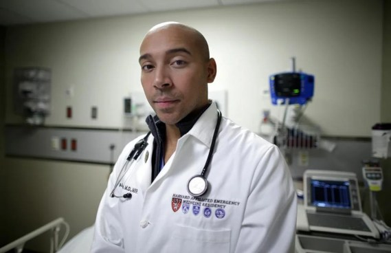 """""""A lot of folks didn't know this was a disease you could treat,"""" said Dr. Alister Martin, an emergency room doctor at Massachusetts General Hospital."""