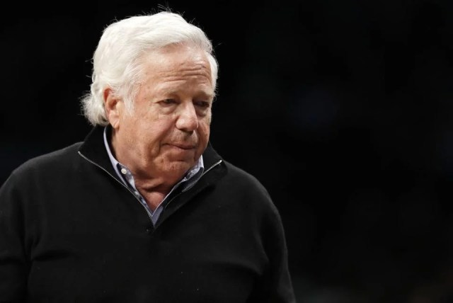 New England Patriots owner Robert Kraft.