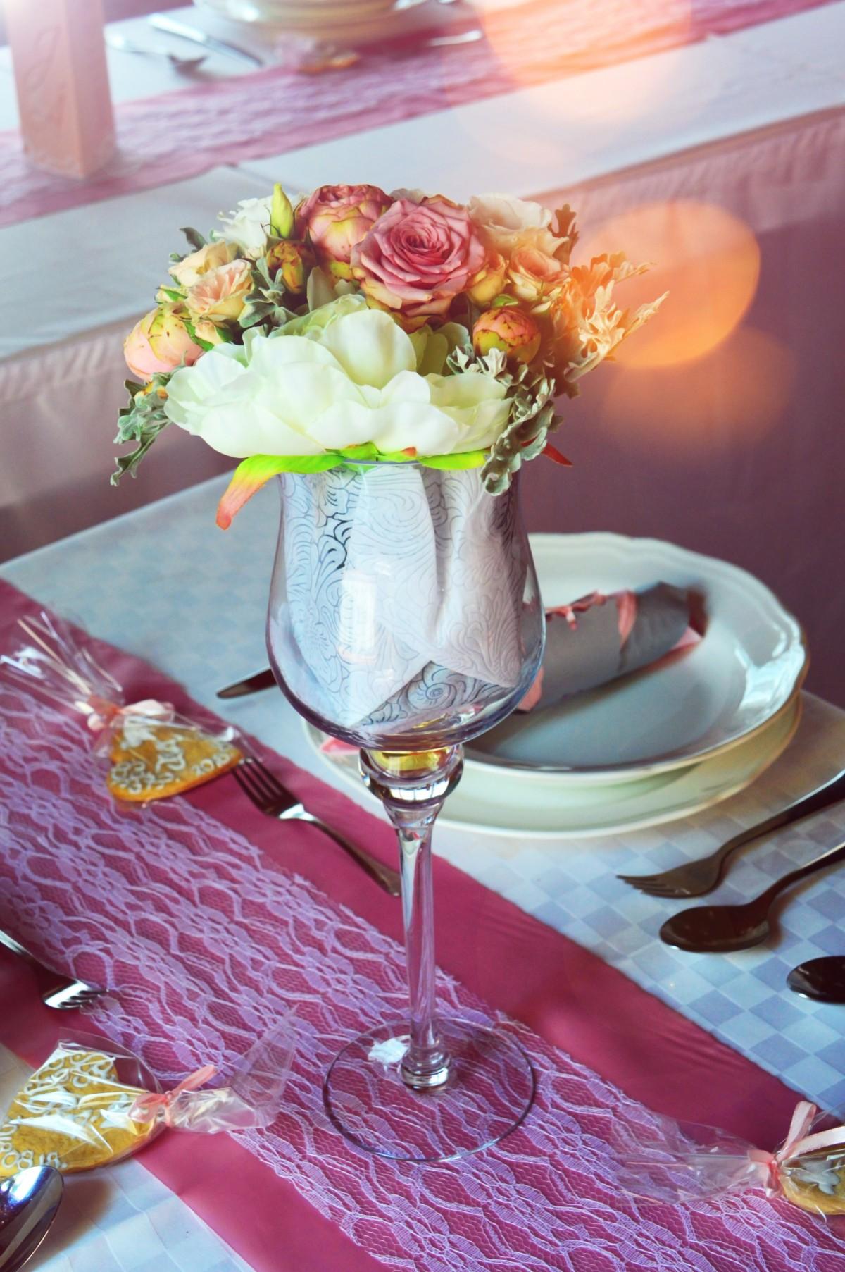Free Images Wedding Table Decoration Setting White