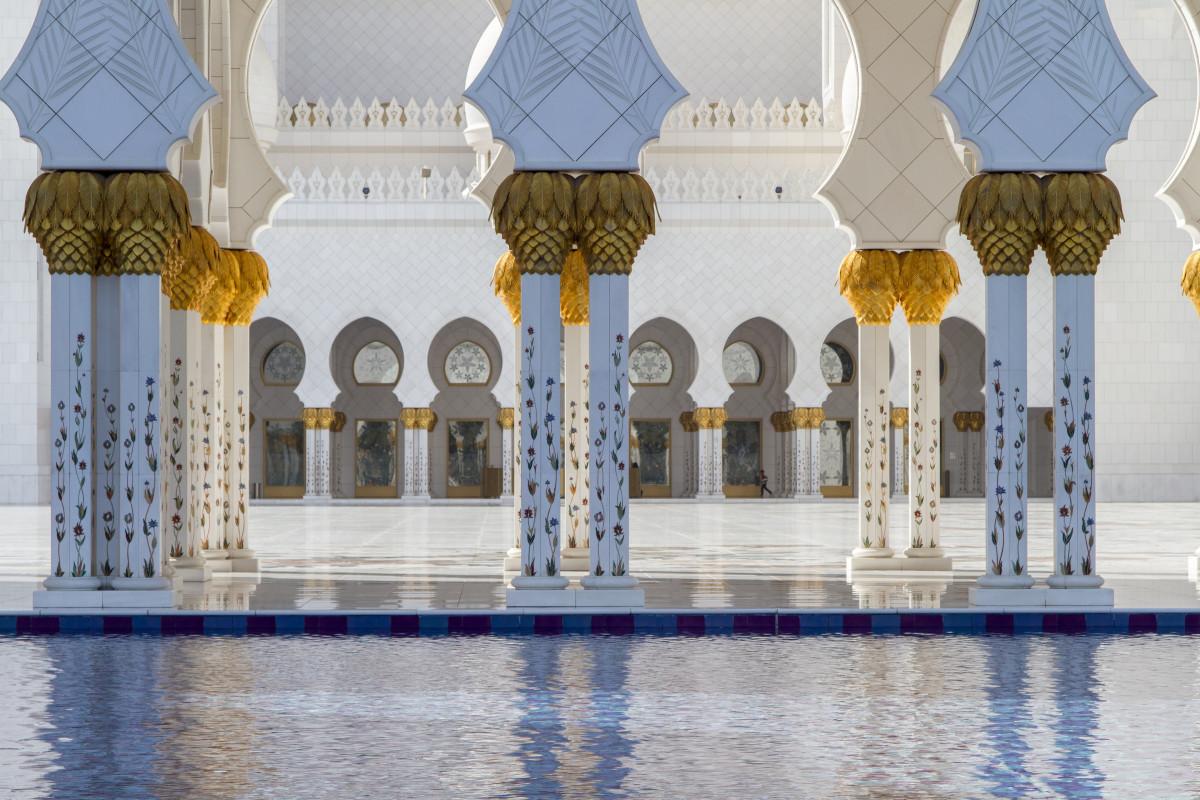 Images Gratuites Blanc Btiment Palais Bleu Lieu De Culte Design Dintrieur Mirats