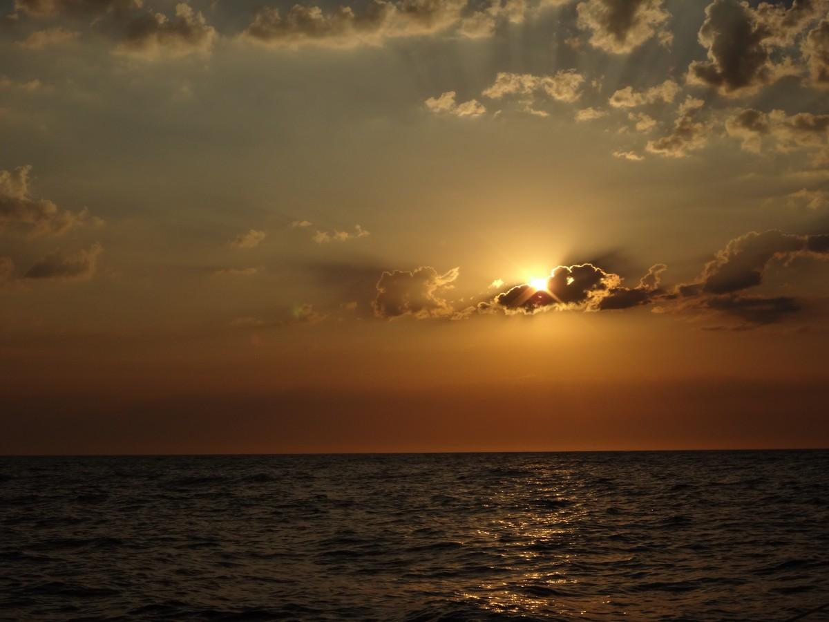 Free Images Landscape Water Horizon Cloud Sky Sun