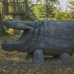 Kostenlose Foto Baum Herbst Skulptur Kunst Sparschwein Scheibenberg Schwein Im Wald 6000x4000 685481 Kostenlose Bilder Pxhere