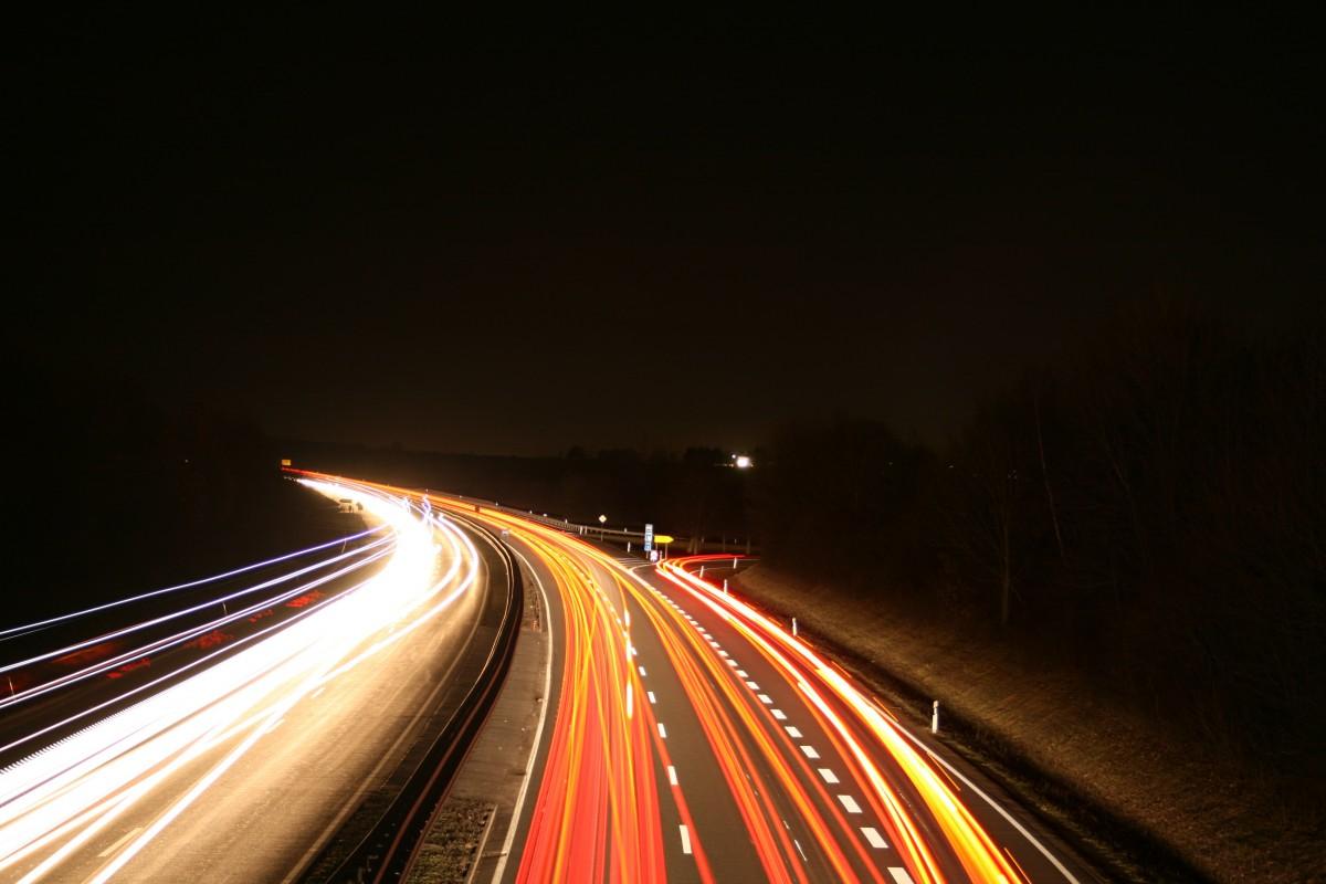 Free Images Silhouette Sky Road Bridge Highway