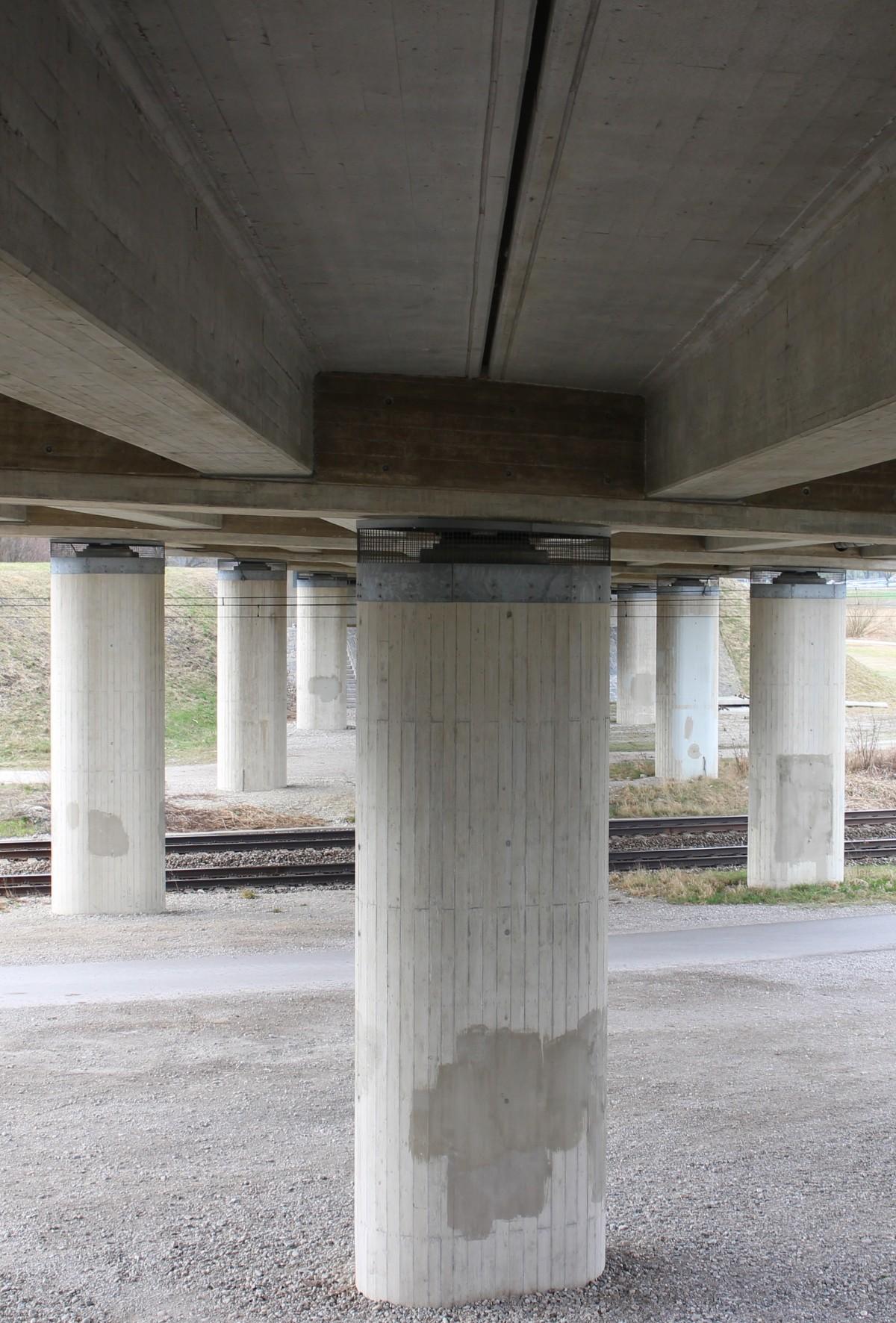 Free Images Architecture Building Overpass Walkway Transport Pillar Street Scene