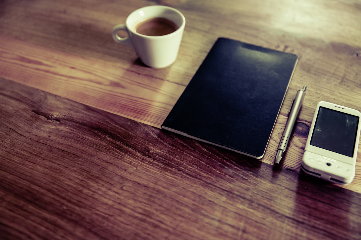 Free Images Notebook Open Wood Office Empty Paper
