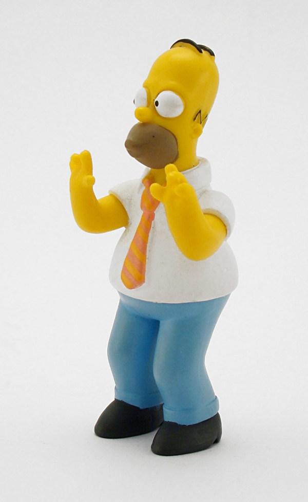 картинки : Гомер, Симпсоны, Рисование, Снеговик, игрушка ...