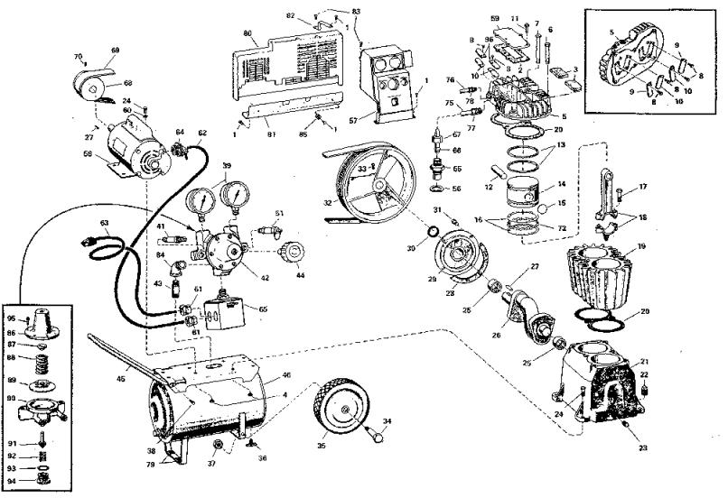 Craftsman 106152781 Air Compressor