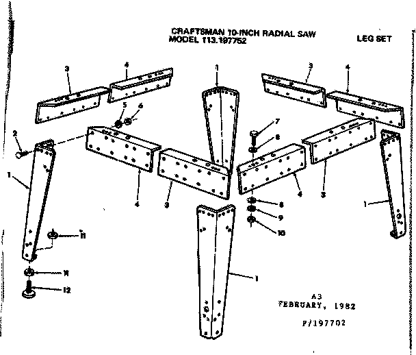 Radial Arm Saw Guard Kit