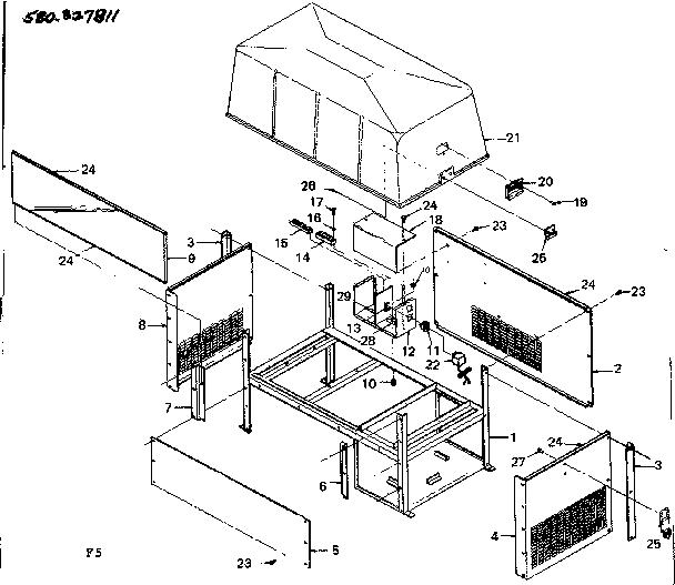 Sears 4000 Watt Generator
