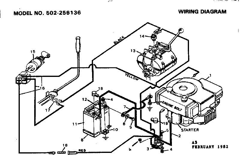 Lawn Mower Switch Wiring Diagram : 32 Wiring Diagram