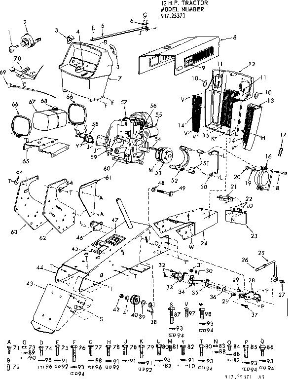 Craftsman Transaxle Drive Belt Diagram