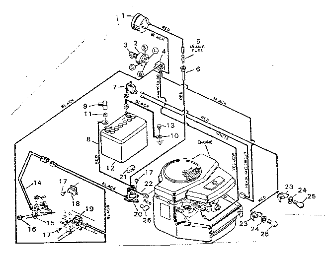 20 Hp Ic Briggs And Stratton Wiring Diagram