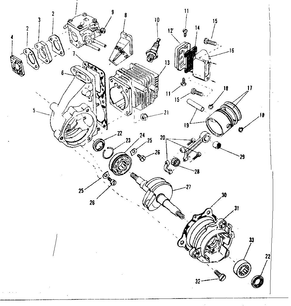 Craftsman model 917351090 chainsaw genuine parts rh searspartsdirect 1200 sportster service manual harley davidson ironhead oil diagram