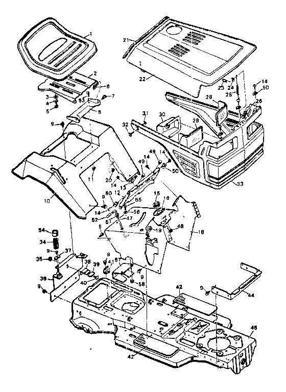 sears craftsman gt6000 manual